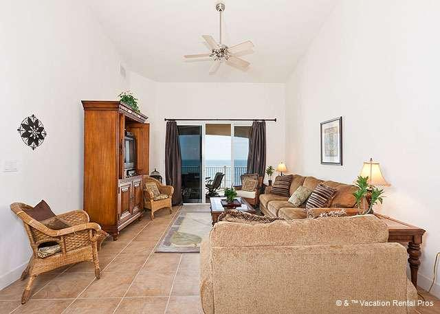 Soaring celings add to the spacious feel - 864 Cinnamon Beach, 6th Floor Penthouse, Ocean Front Balcony - Palm Coast - rentals
