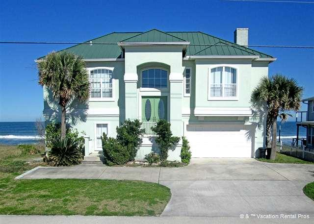 Beach Whisper is ocean front on a secluded beach - Beach Whisper, Beach Front, 4 bedrooms, HDTV, Wifi - Ponte Vedra Beach - rentals