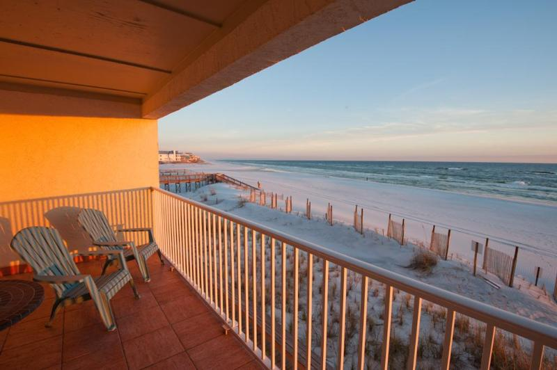 Enjoy Sunset from the Balcony - Ocean Front Condo Amazing view of Gulf of Mexico - Seagrove Beach - rentals