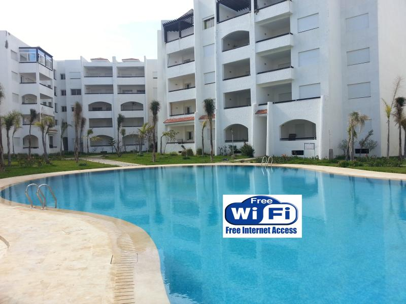 Main Swimming pool - Asilah Marina Golf, Lovely Seaview Flat - Asilah - rentals