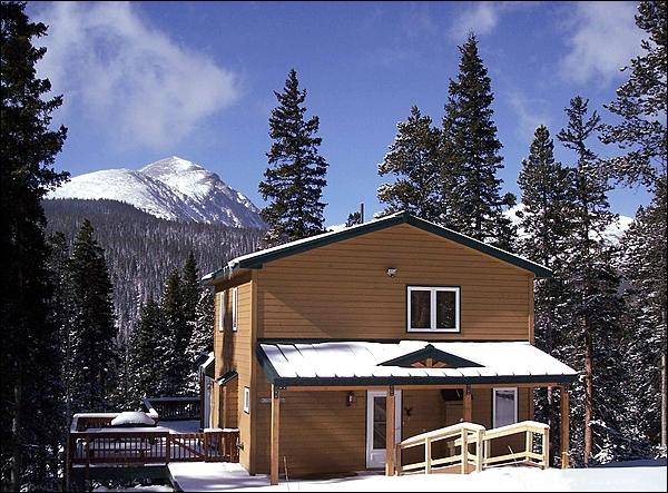 Beautiful Mountain Home with Great Views - Wonderful Secluded Mountain Home - Impressive Views of Quandary Mountain (13311) - Breckenridge - rentals