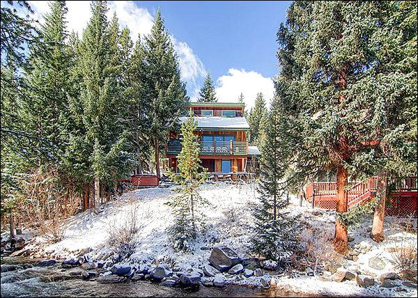 Beautiful Mountain Home Situated Along the Blue River - Situated Along the Blue River - New Private Hot Tub (13321) - Breckenridge - rentals