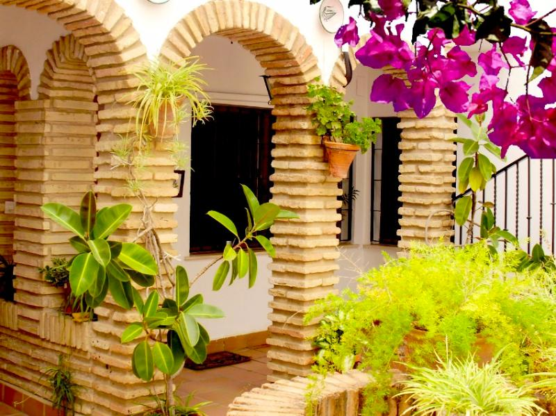 Patio andaluz del apartamento - 200m from th Mosque with high speed internet & par - Cordoba - rentals