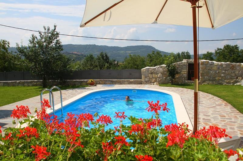 Charming  villa for 10+4 person with WHIRLPOOL - Image 1 - Buzet - rentals