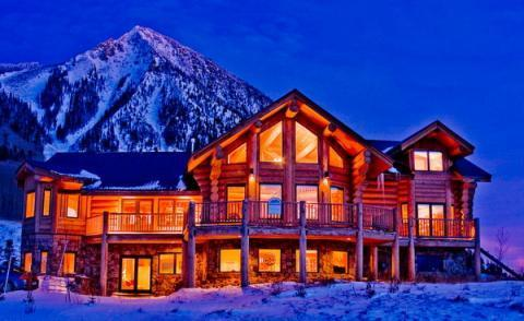 Gorgeous Log Home with Hot Tub! - Image 1 - Crested Butte - rentals