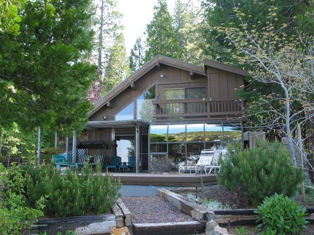 House from the beach - Awesome Lakefront Home with 2 Boats - Lake Almanor - rentals
