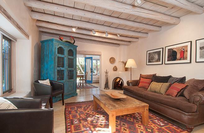 Living Room - Casa Abeyta - Santa Fe - rentals