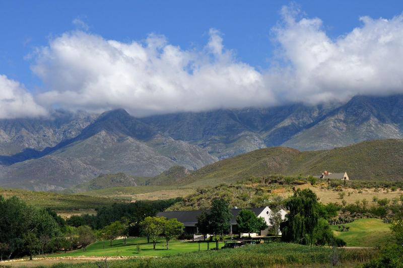 Lodge, with Swartberg Mountains - Swartberg Private Game Lodge - Oudtshoorn - rentals