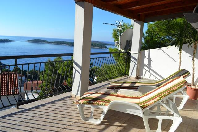 Apartment Antonija - Hvar-beautiful sea view - Image 1 - Hvar - rentals