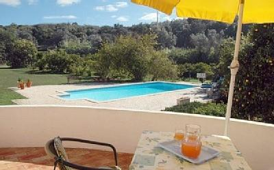 View from the terrace - Lovely cottage on organic citrus farm in the sun - Portimão - rentals