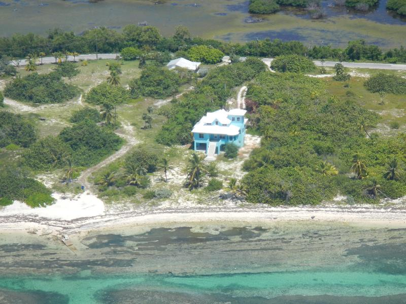 view of the property from the air - Rest Azured - Little Cayman - rentals