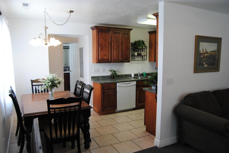 The well appointed kitchen will save you a bundle on eating costs - 161 Hike Zion in the day then take in a play! - Cedar City - rentals
