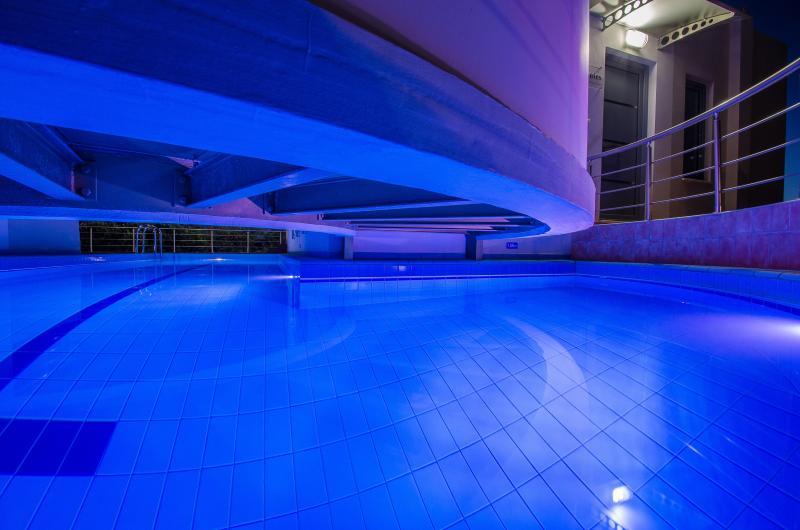Night Lights at the pool - Anemon Villas - Villa Levantes - Chania - rentals