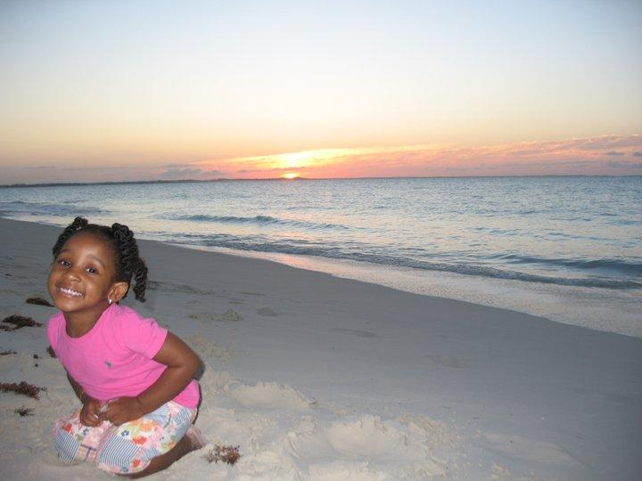 Lauren loves the beach....very kid friendly - Peridot Place I - Providenciales - rentals