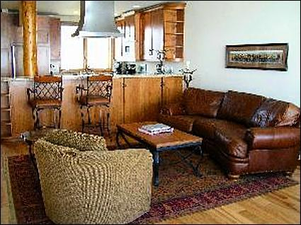 Luxurious Living Room - Old World Class, New World Finesse - Stunning Furnishings  (1021) - Crested Butte - rentals