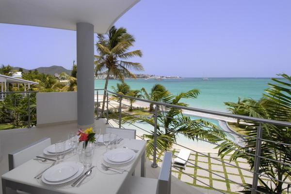 Paradise Found at Las Arenas - Beachfront Luxury! - Image 1 - Simpson Bay - rentals