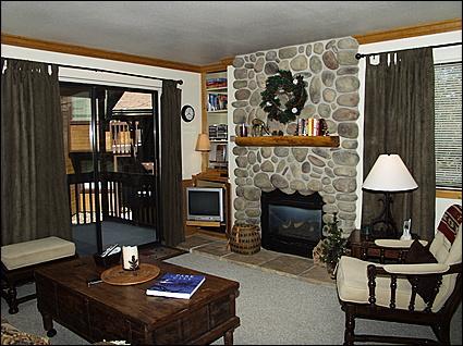 Beautiful Custom Rock Fireplace - Beautiful Mountain Decor - Mountain and Open Space Views (2725) - Park City - rentals