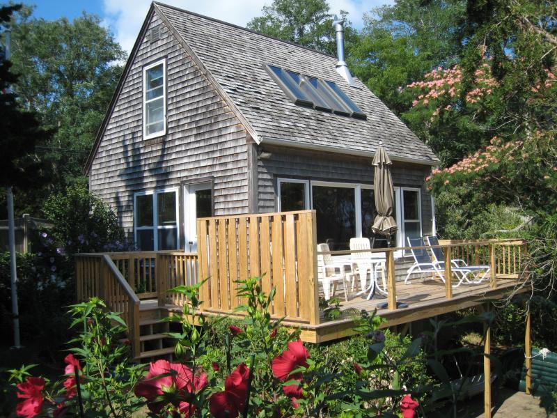 Aunt Sukies Cottage - Waterfront on private bayside beach - Wellfleet - rentals