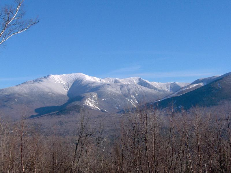 View from house - Franconia Notch Retreat, Huge Views, Hot Tub, A/C - Franconia - rentals