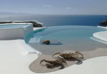 Private pool with uninterrupted sea view, waterfront property - Villa Turquoise My Mykonos Retreat Villas - Mykonos - rentals