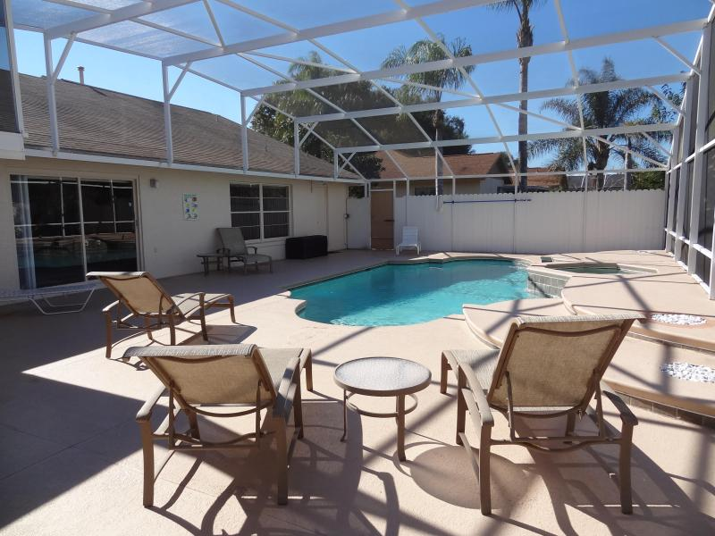 Huge Private Heated Pool and Spa - Beautiful PRIVATE! Pool Home 4 Miles from Disney - Celebration - rentals