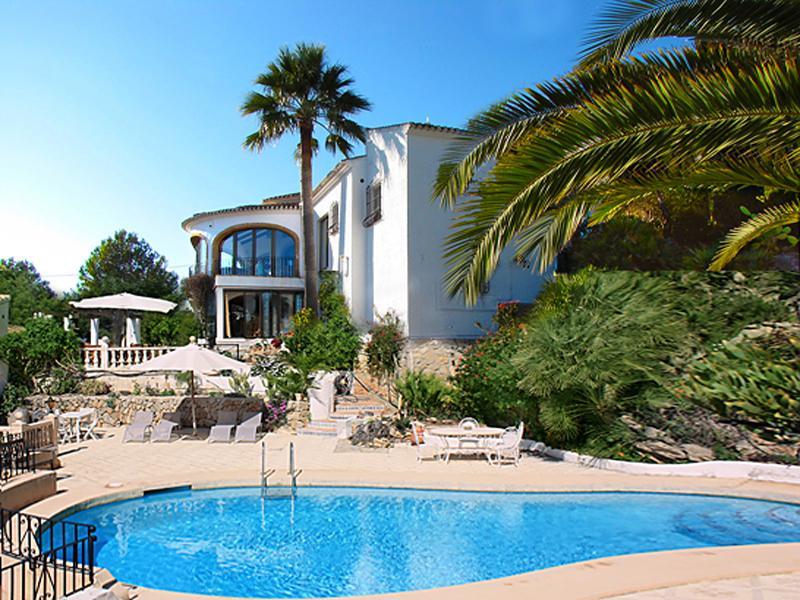View of the villa from the pool terraces - Hacia el Sur, a superb villa in Javea - Javea - rentals