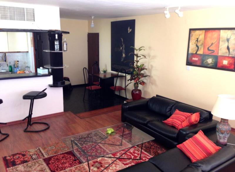 Living Room - 2BR Apartment Overlooking the Red Sea, Eilat - Eilat - rentals