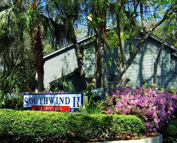 Entrance Sign to Southwind II - Southwind II at Shipyard - 2 Bedroom - Hilton Head - rentals
