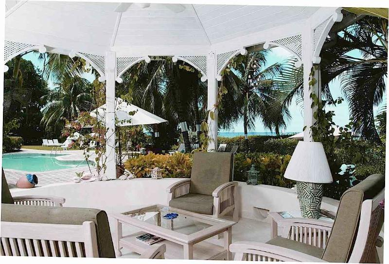 Solandra, Emerald Beach #1 at Gibbs Beach, Barbados - Beachfront, Gated Community,  Pool - Image 1 - Gibbes - rentals