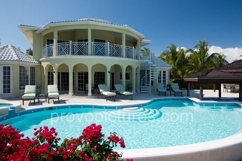Adam and Eve Leeward, Provideciales, Turks and Caicos - beach, canal, marina - Luxury 4BR Villa on the Water.  - Owner Direct - Providenciales - rentals