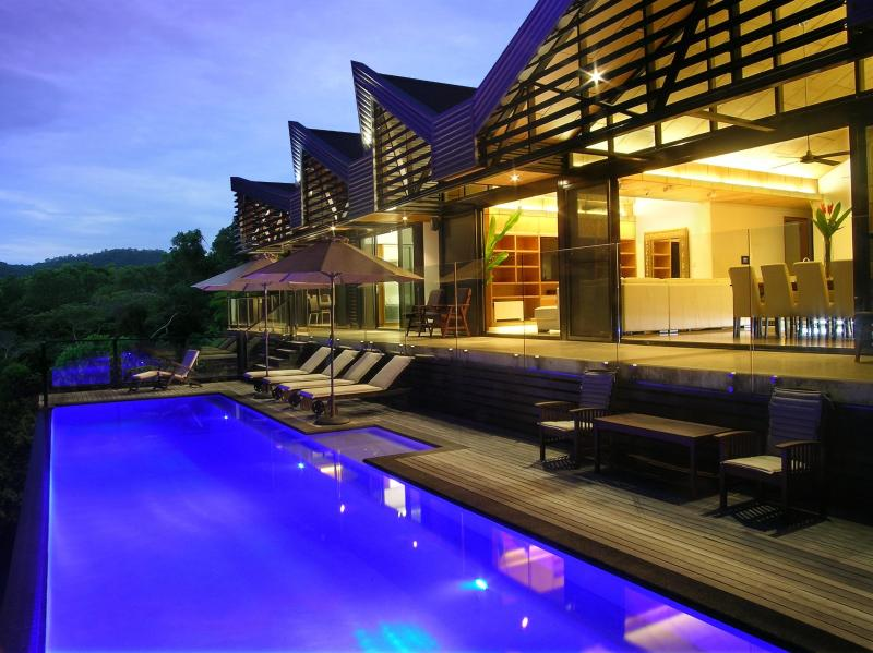 Palatial architectural luxury boutique retreat on 40 acre rainforest property #luxurygonegreen - The Cassowary : Boutique Rainforest Retreat ,QLD - Cassowary - rentals