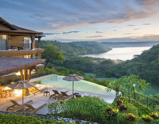 Beautiful overview of pool and views next to Vista Hermosa - Ocean View Luxury Villa: golf, beach, concierge - Gulf of Papagayo - rentals