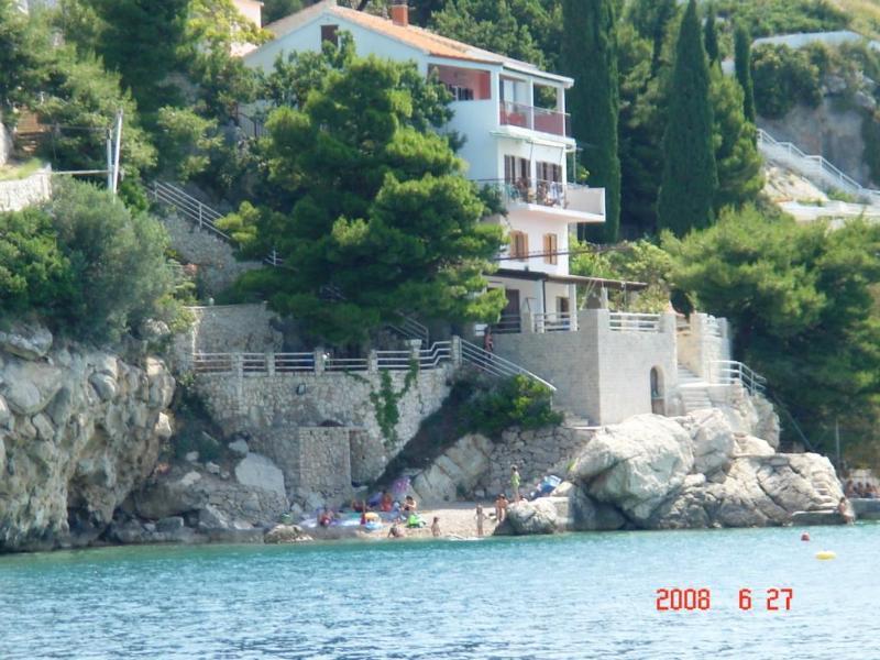 Villa Antares Pisak - 3 bedroom condo directly at the beach 45 km -Split - Pisak - rentals