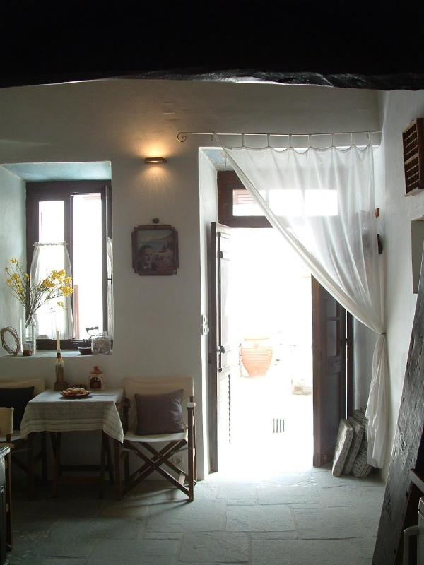 Ground floor - Ultimate Greek Island village holiday rental. - Kastro - rentals