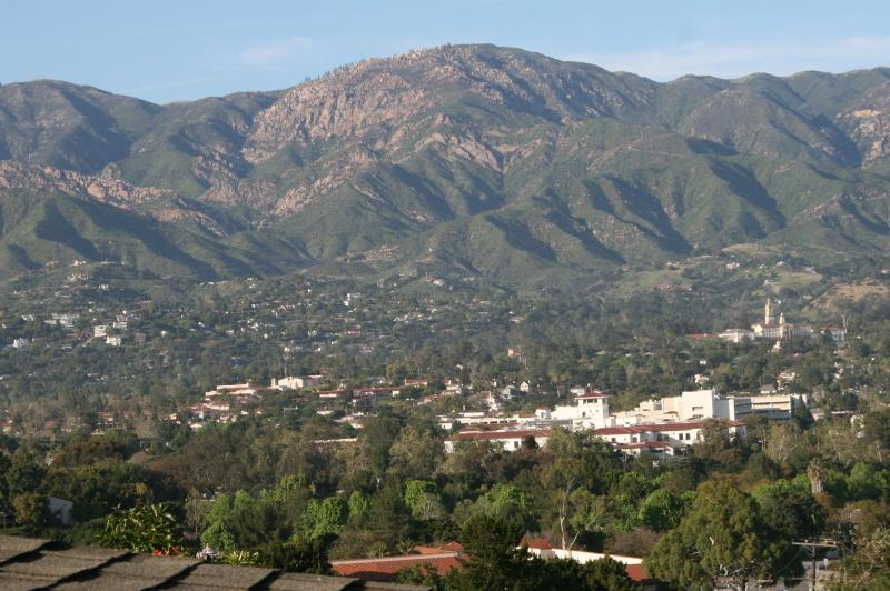 View from loft bed - Charming romantic/family cottage - Santa Barbara - rentals