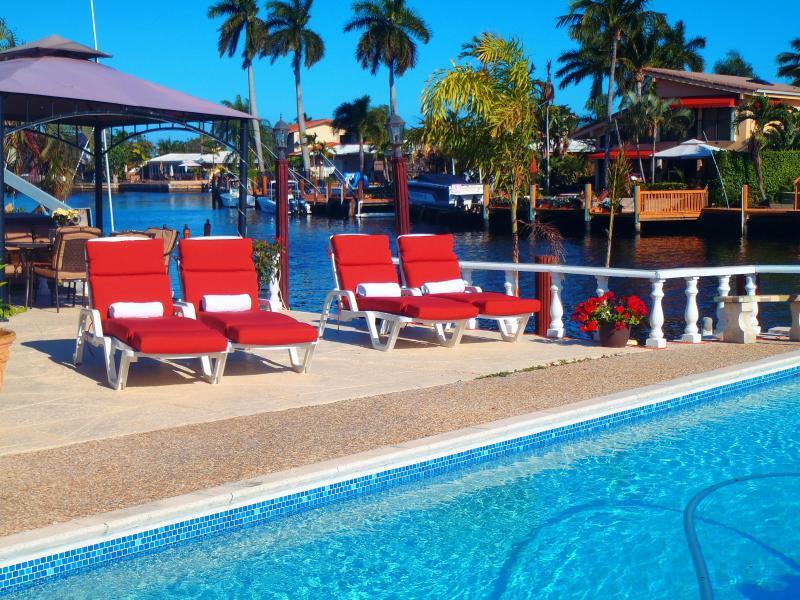 Pool - Waterfront Pompano Beach Fortlauderdale - Pompano Beach - rentals