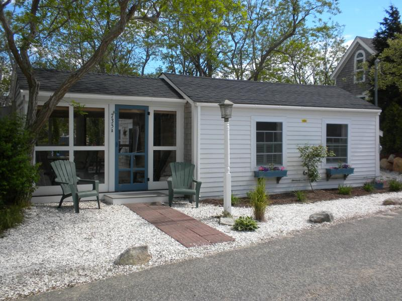 Front View - Cozy Cottage Steps to Private Cape Cod Bay Beach - Eastham - rentals