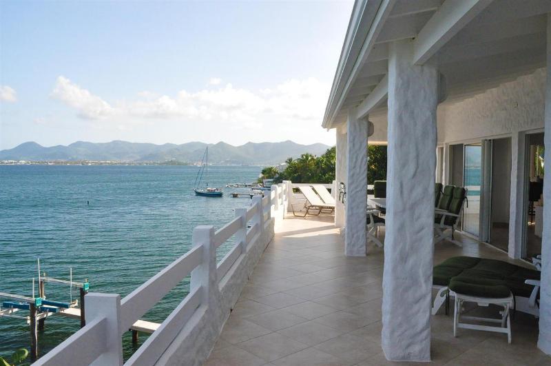 Seachest at Cote D'Azur Marina, Cupecoy, Saint Maarten - Waterfront, Boat Dock - Image 1 - Cupecoy - rentals