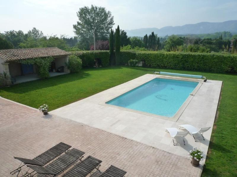 Piscine avec vue sur les Alpilles - Charming Guest House  B and B Saint Remy Provence - Saint-Remy-de-Provence - rentals