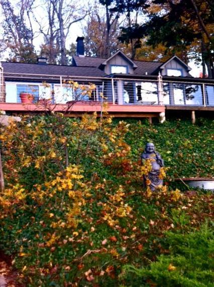 144 Lakeshore Drive deck - Cottage,100 ft of Lake Michigan Beach Saugatuck MI - Douglas - rentals