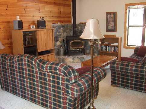 Living Room - Reeves - Truckee - rentals