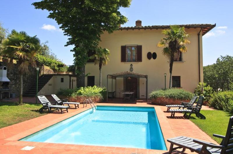 Villa il Castellaccio - Villa il Castellaccio farmhouse chianti with pool - Greve in Chianti - rentals