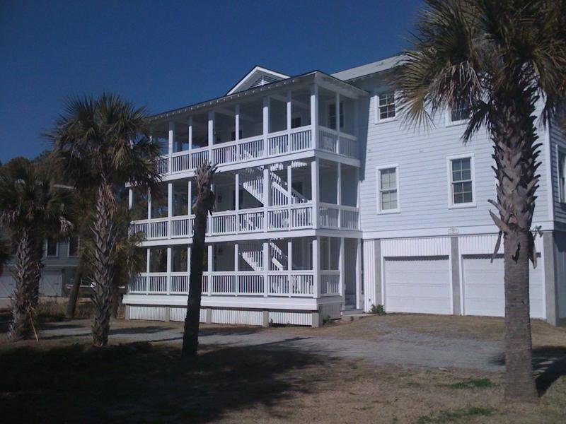 Front of Home - Tybee Beach Home w/private Pool - Tybee Island - rentals