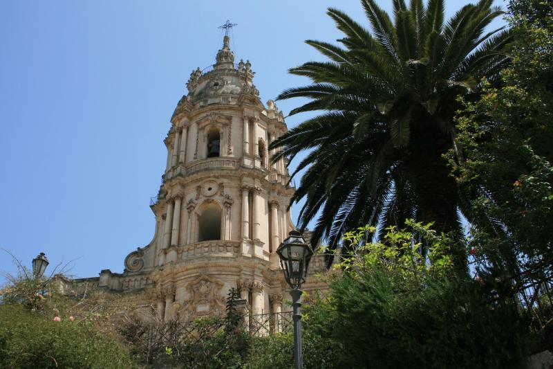 Duomo Saint George - Casa Azzurra, a townhouse for 2 in Modica, Sicily - Modica - rentals