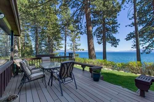 panoramic lake views from your deck - Dunbar - Tahoe City - rentals