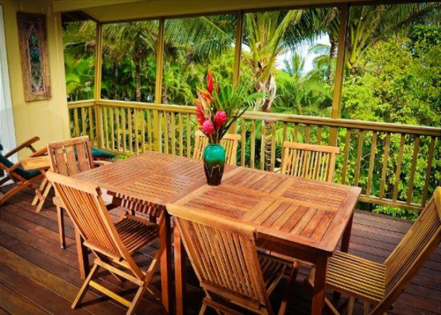 10% off May!! Private, Spacious, Luxury Home Near Tunnels Beach! - Image 1 - Hanalei - rentals
