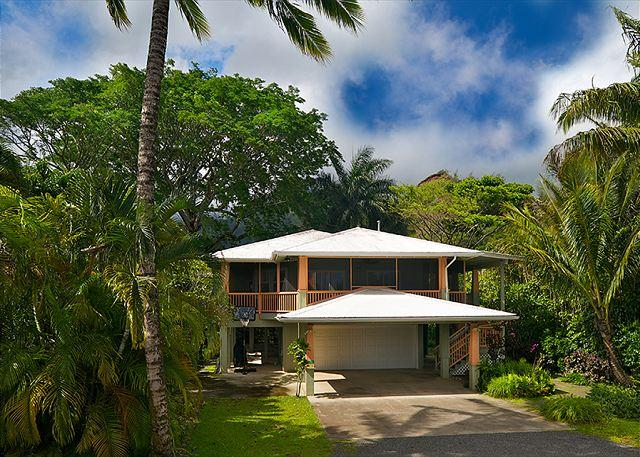 Gorgeous Hanalei Bay Home & Short Walk to the Beach!! - Image 1 - Hanalei - rentals