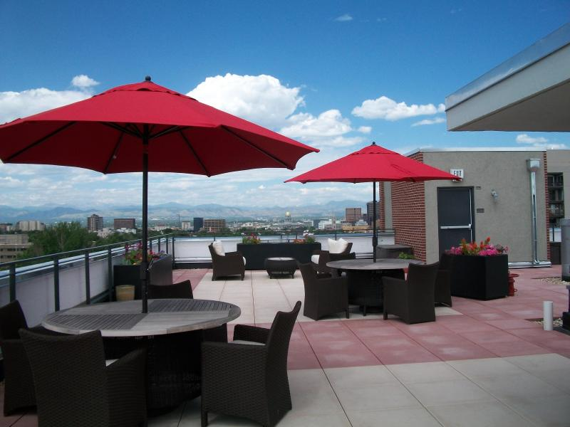 5000 sq. ft. deck with views of the Capital, Rockie Mountains, City lights and surrounding area. Gas BBQ - *30 Nite Min Stay - 2 BD Corporate $1950 Downtown - Denver - rentals
