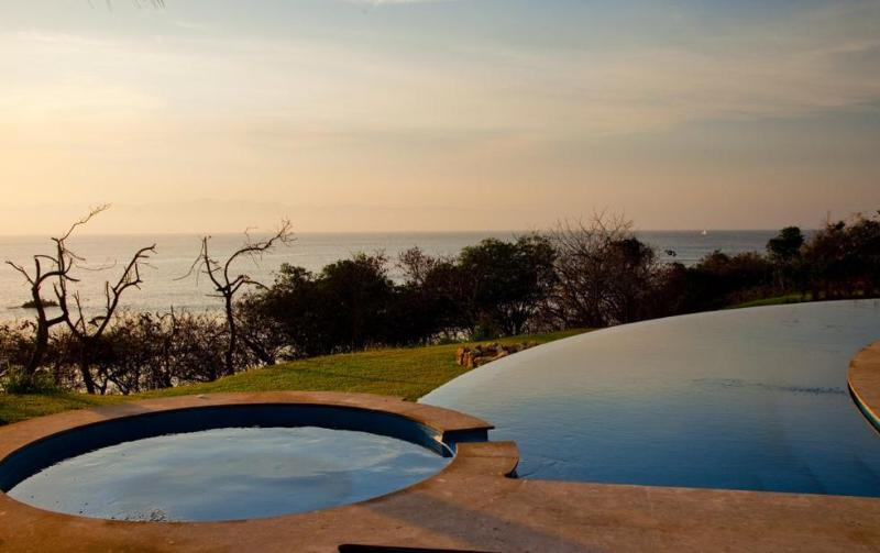 Unique luxury beachfront home inside Four Seasons - Image 1 - Punta de Mita - rentals