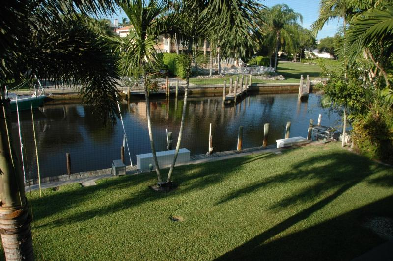 Bluepoint Canal Viewed from Lanai - Royal Harbor Condo on Canal, Pool, Lanai, Nr. Beac - Naples - rentals